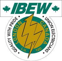 Official IBEW120 Logo