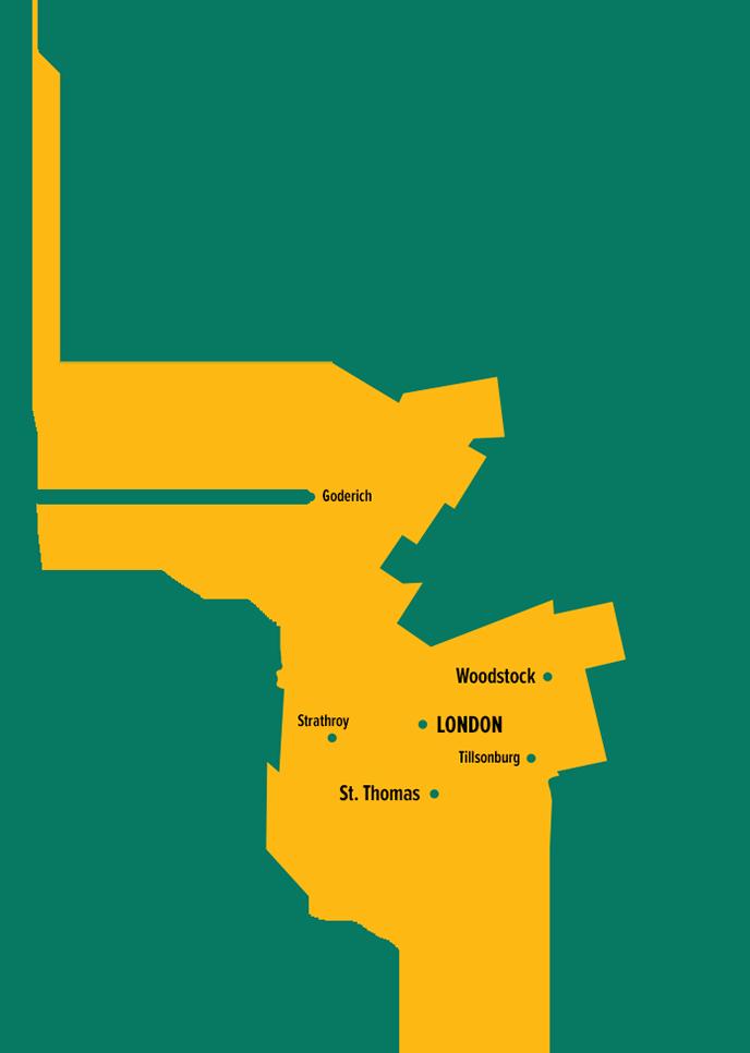 IBEW120 Regional Map