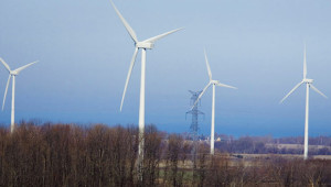 Picture of 4 wind turbines
